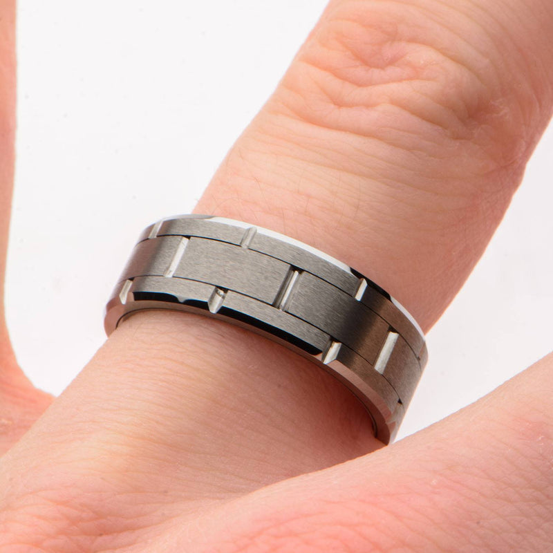 Tungsten Carbide and Ceramic Ring - Bijouterie en ligne - 4