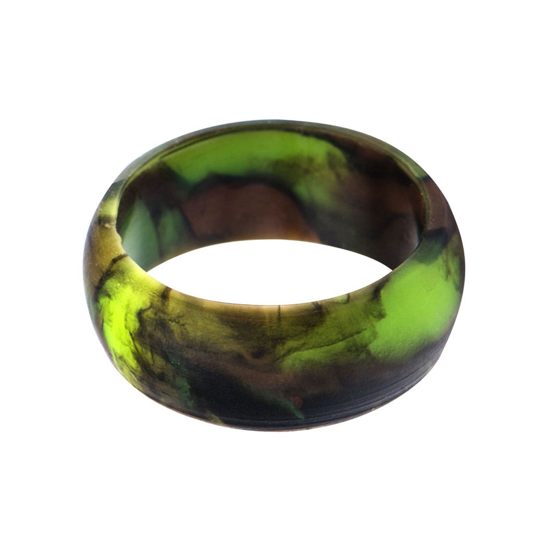 Men's Silicone Safety Bands for Active Lifestyles in Camo