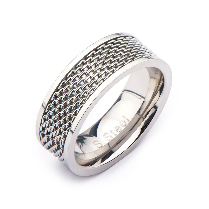 Stainless Steel Mesh Ring