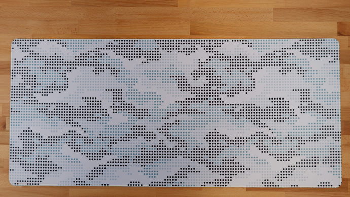 [GB] Dots and Flower Deskmats by Adil