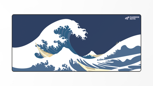 Great Wave Deskmat