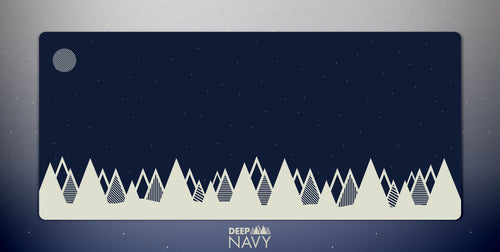Deep Navy Deskmat
