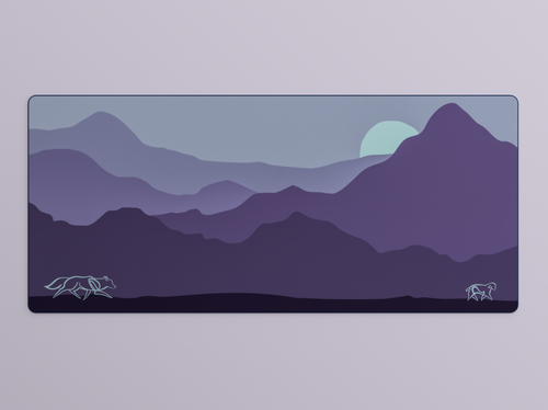Lamb and Wolf Deskmat