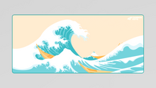 Load image into Gallery viewer, [Preorder] Great Wave Deskmat