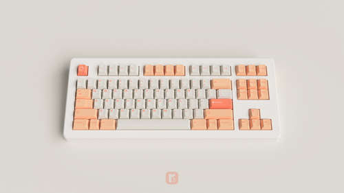 [GB] GMK Peaches n Cream