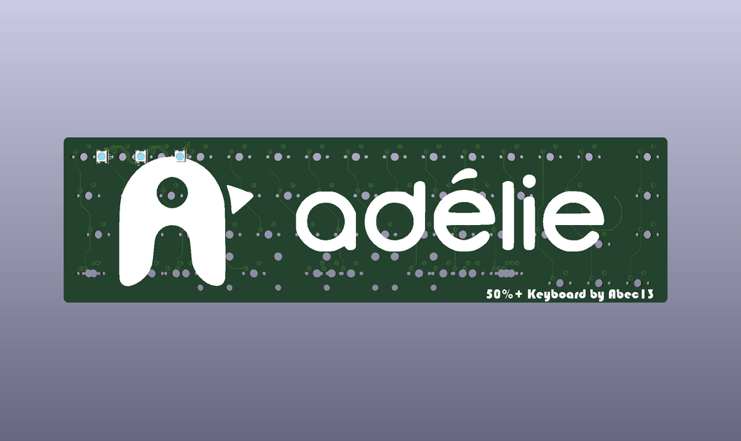 [Adelie] Adelie PCB, JST Cable, and Daughterboard