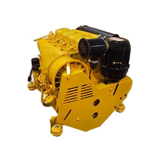 F4L912 Deutz 4 cylinder engine recon - Yellow Metal SA