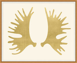 CORNERSTONE HOME INTERIORS - ACCENT - MOOSE ANTLERS