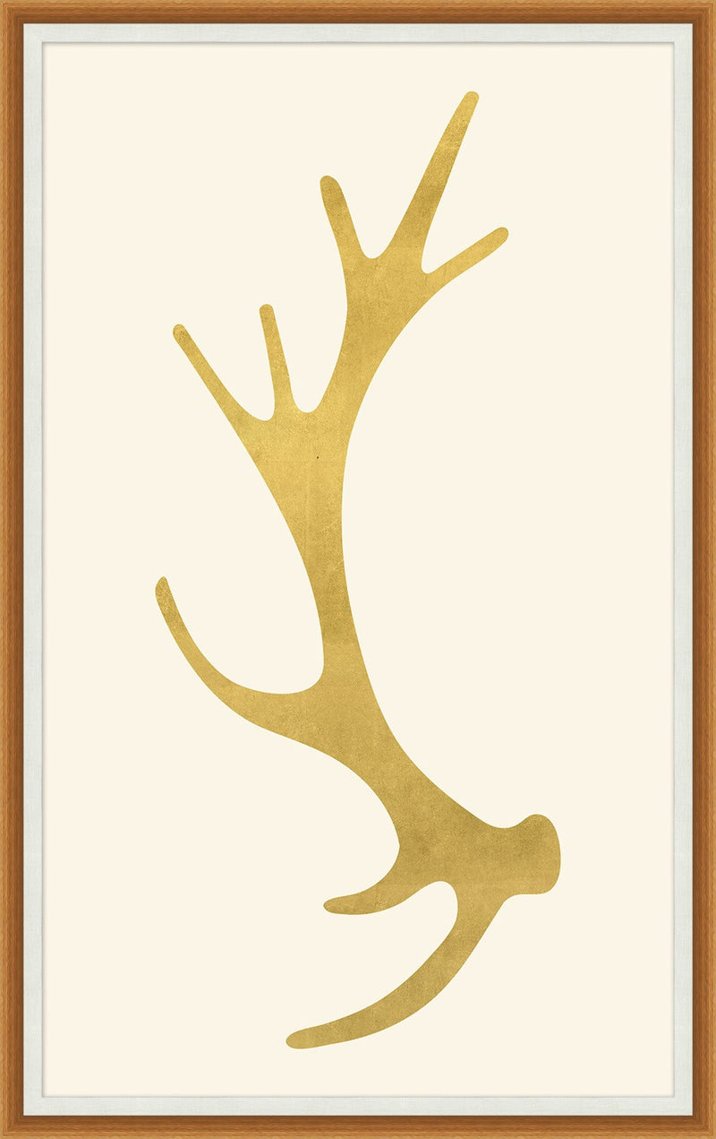 CORNERSTONE HOME INTERIORS - ACCENT - GOLD ANTLER 1