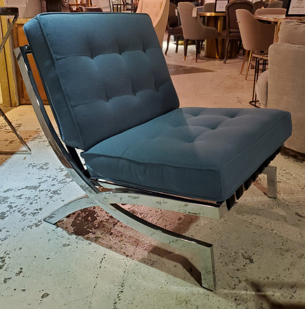 Ashbury Fabric & Metal Chair