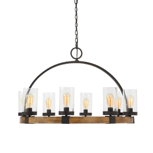ATWOOD 8 LIGHT PENDANT CHANDELIER