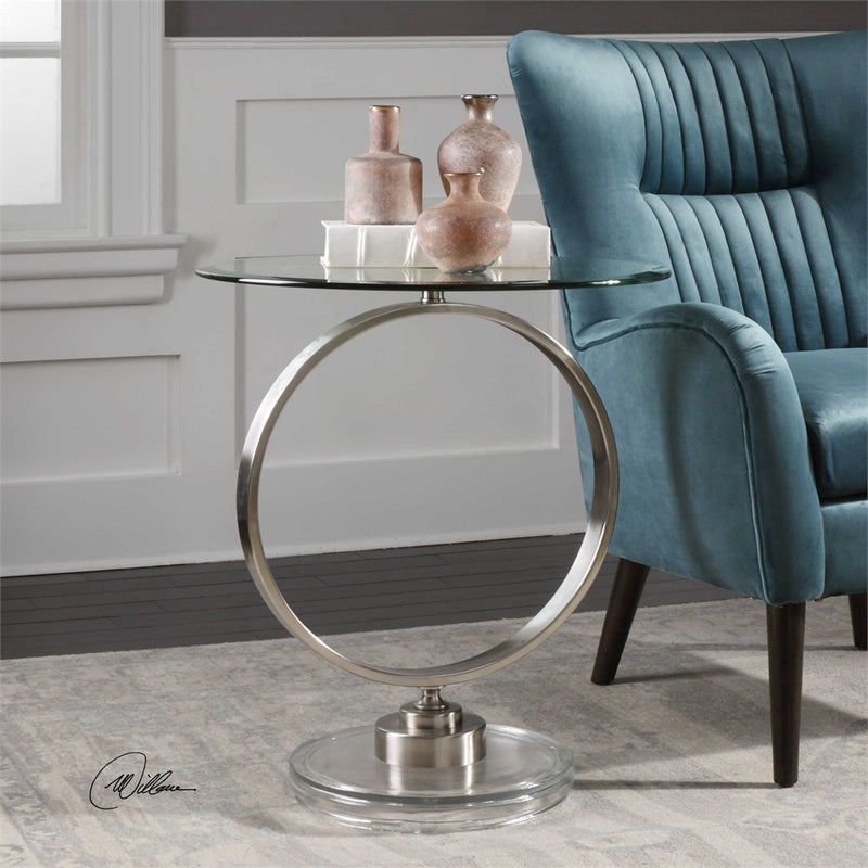 CORNERSTONE HOME INTERIORS - DIXON ACCENT TABLE
