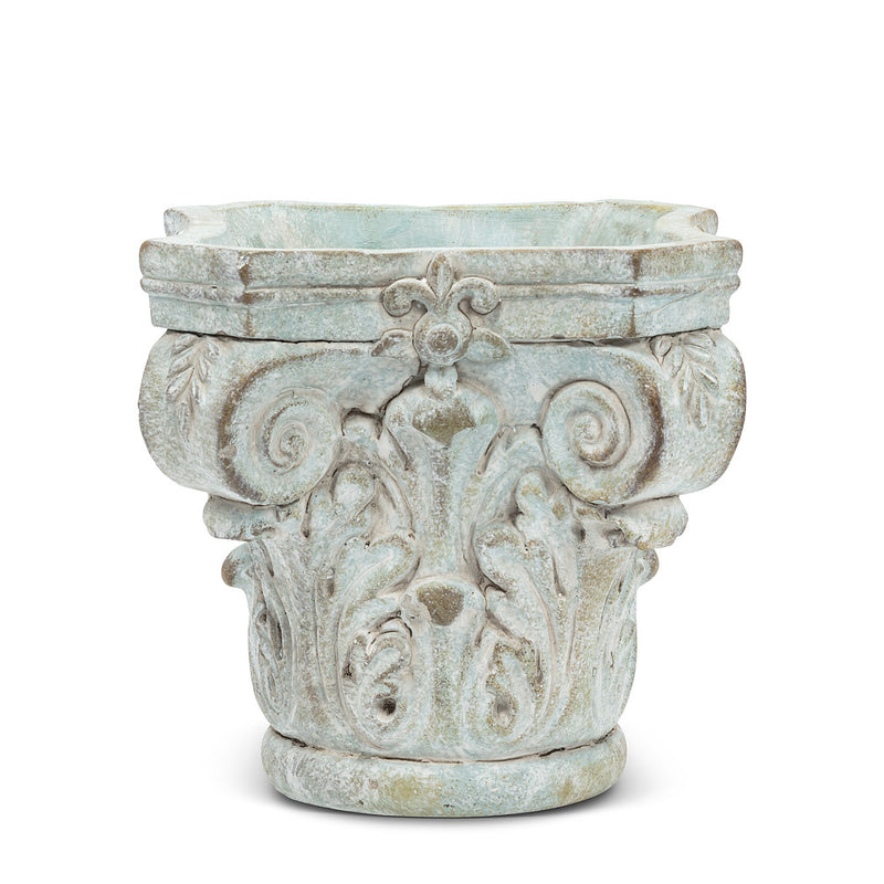 Square Column Cap Planter