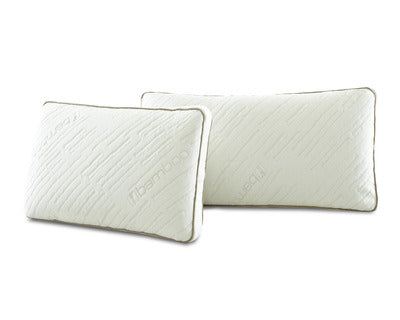 CORNERSTONE HOME INTERIORS - MEMORY TEX BED PILLOW (PACK OF 2)