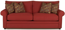 CORNERSTONE HOME INTERIORS - COMFY DREAMQUEST SLEEPER SOFA (QUEEN) [IN BAYOU FLAME]