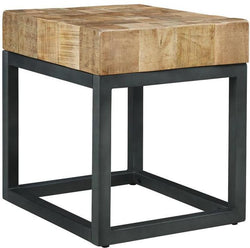 CORNERSTONE HOME INTERIORS - LIVING - PRINICO END TABLE