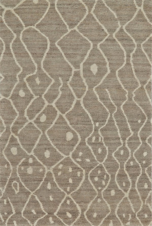 "BARBARY 5'-6"" x 8'-6"" RUG IN NATURAL/GREY"