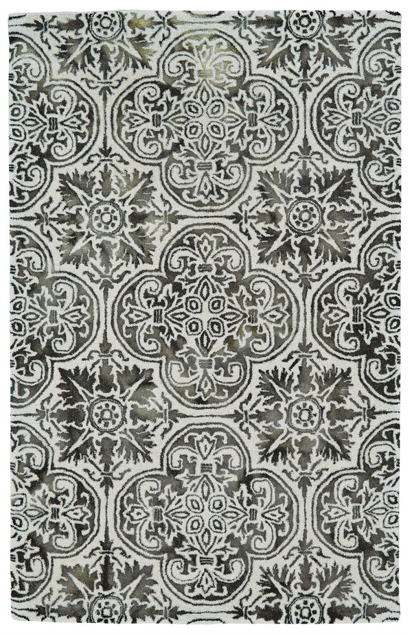 BAXTER 5x8 RUG IN BLACK