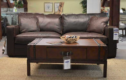 HOMESTEAD LEATHER SOFA