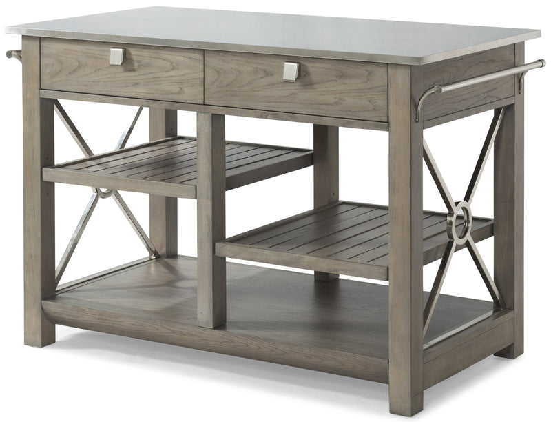 CORNERSTONE HOME INTERIORS - HERE COMES TEMPTATION KITCHEN ISLAND