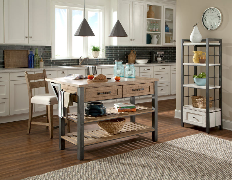 CORNERSTONE HOME INTERIORS - REUNION KITCHEN ISLAND