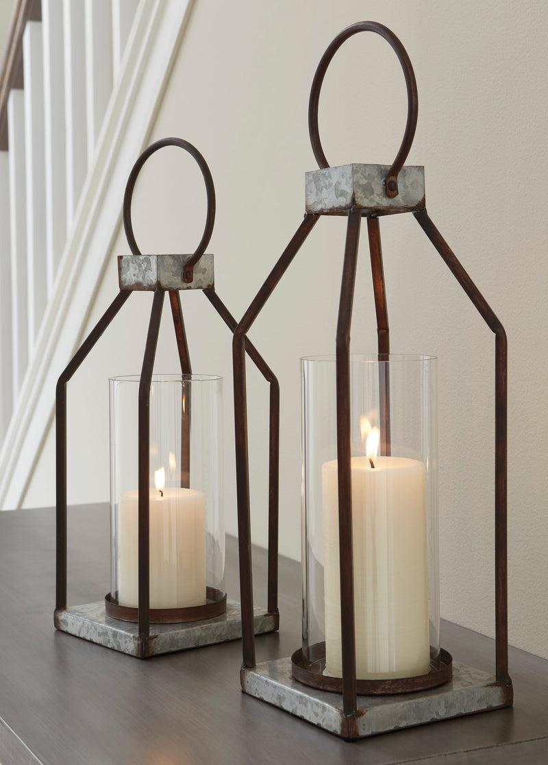 CORNERSTONE HOME INTERIORS - LIGHTING - DIEDRICK LANTERN (SET OF 2)
