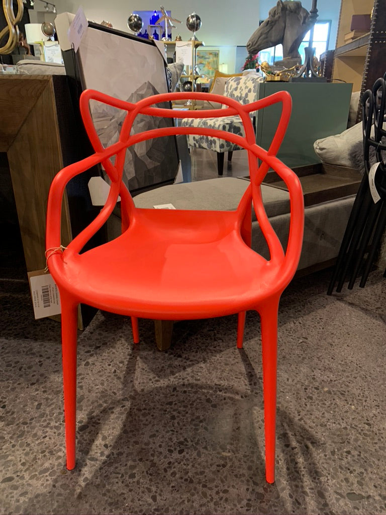 BRONTE DINING CHAIR RED