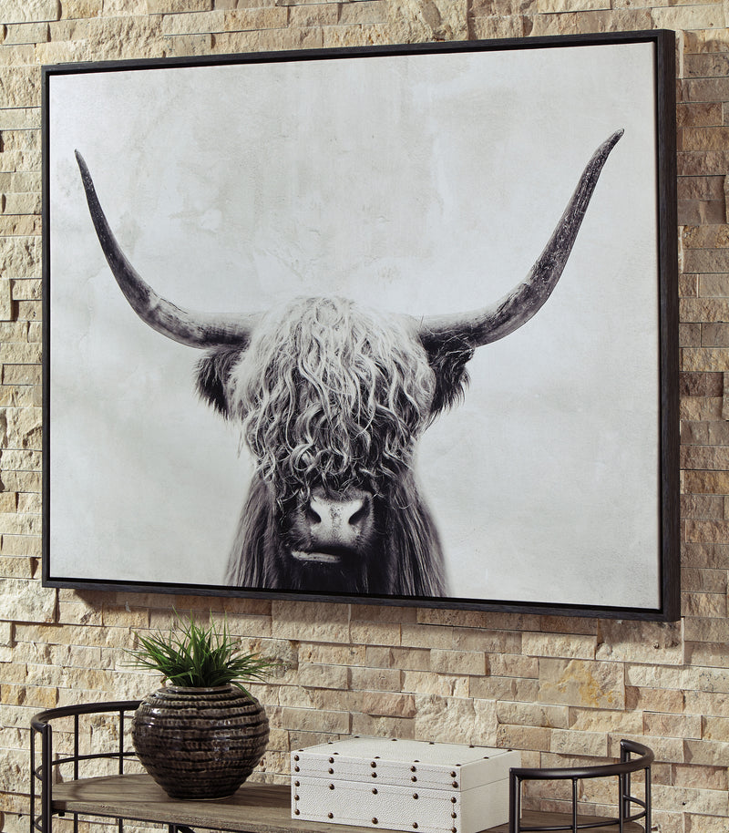 CORNERSTONE HOME INTERIORS - ACCENT - PANCHO WALL ART