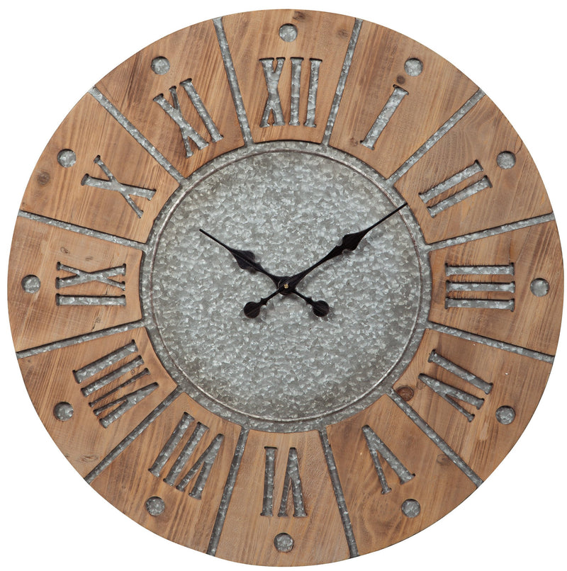 CORNERSTONE HOME INTERIORS - ACCENT - PAYSON WALL CLOCK