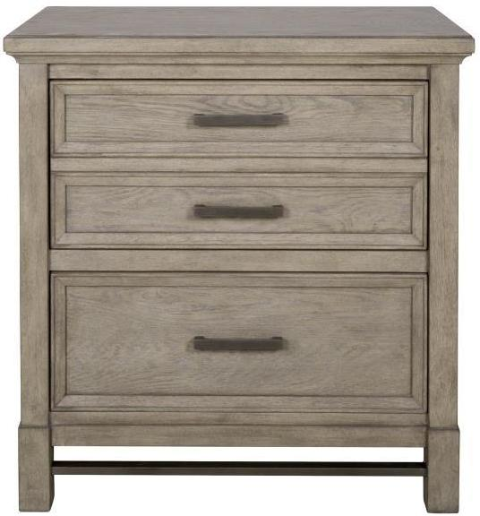 CORNERSTONE HOME INTERIORS - BEDROOM - LEYTON PARK NIGHTSTAND