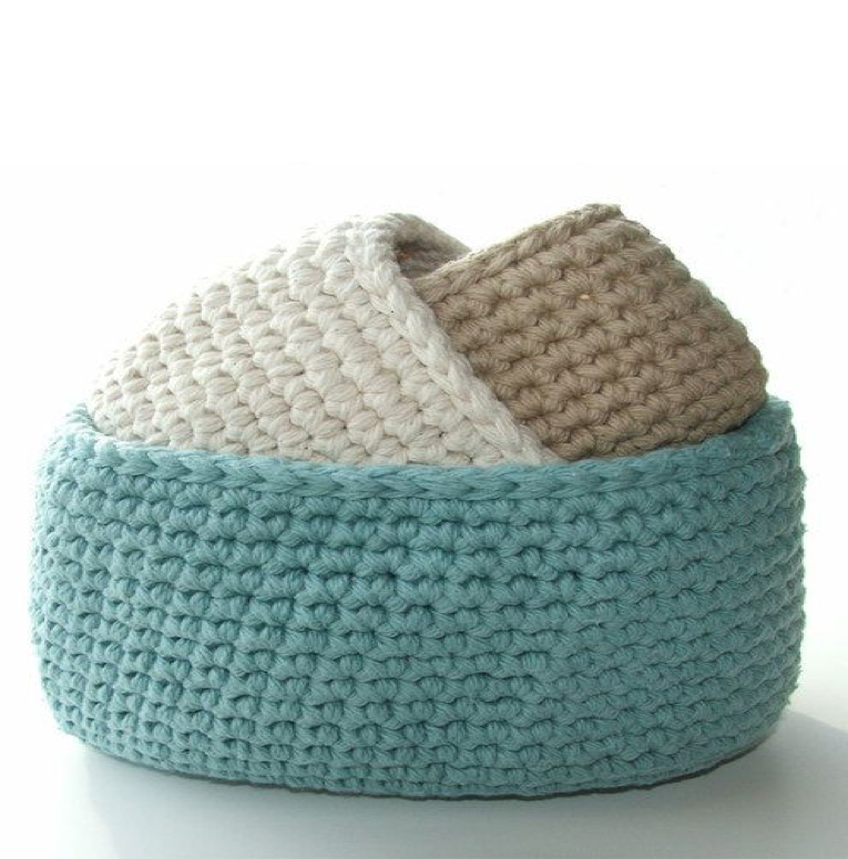 PIPER WOOL BASKETS