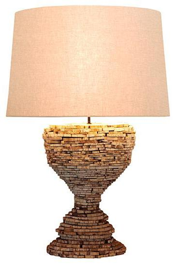CORNERSTONE HOME INTERIORS - CHAMONIX LAMP (2 SIZES) [LARGE]
