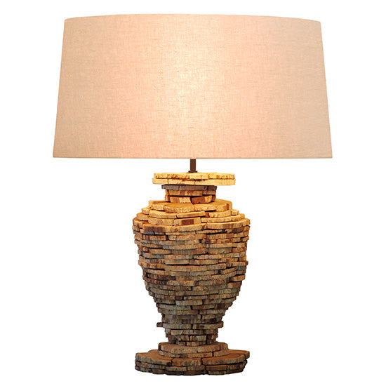 CORNERSTONE HOME INTERIORS - CHAMONIX LAMP (2 SIZES) [MEDIUM]