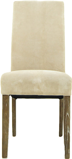 CORNERSTONE HOME INTERIORS - OLIVER SUEDE DINING CHAIR