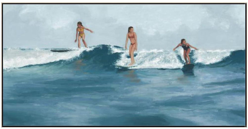 CORNERSTONE HOME INTERIORS - WALL ART - SUMMER SURF x RICK BLUE