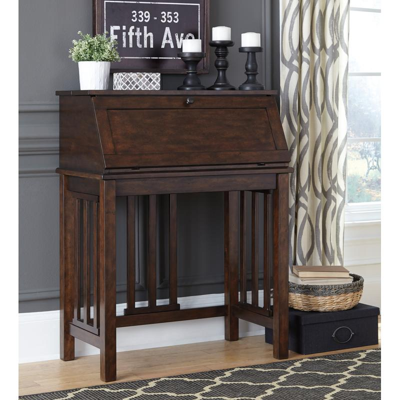 CORNERSTONE HOME INTERIORS - HARPAN DROP FRONT OFFICE DESK