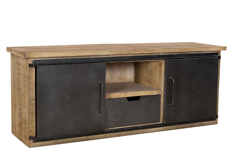 ATWOOD 2-DOOR 1-DRAWER TV CABINET