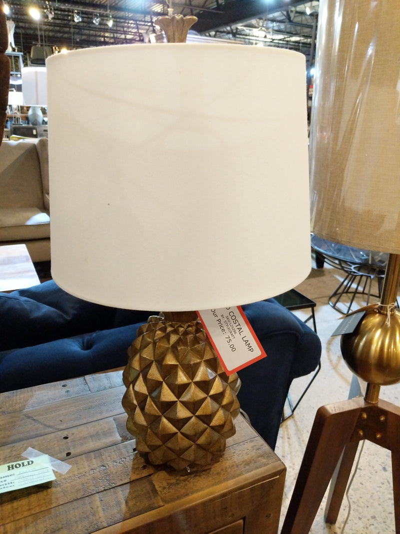 GOLD COSTAL LAMP