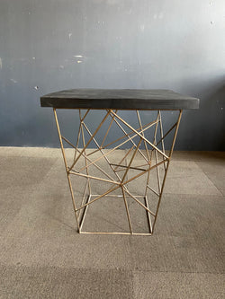 LIEV STONE TOP SIDE TABLE