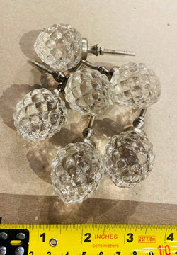 GLASS KNOBS 10
