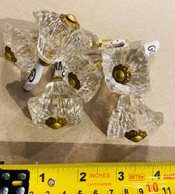 GLASS KNOBS 12