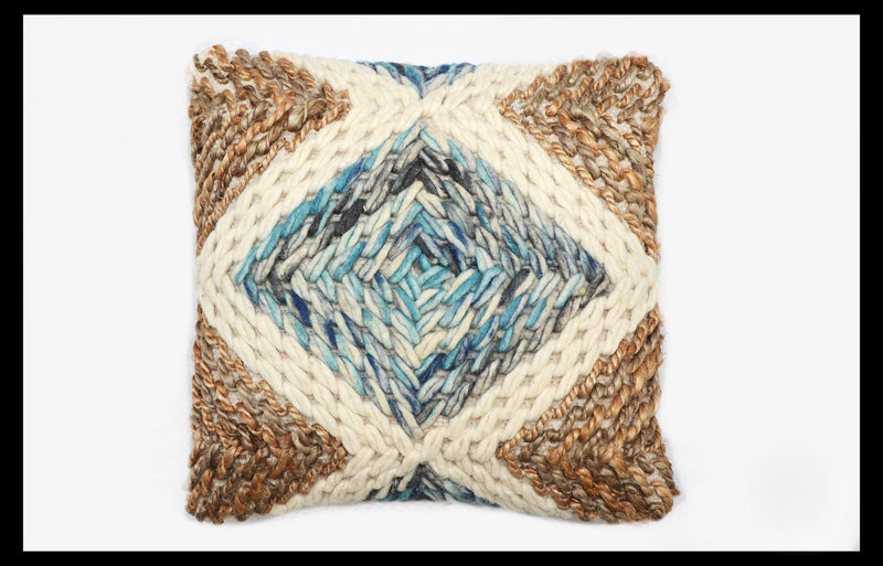 HARPER WOVEN ACCENT PILLOW