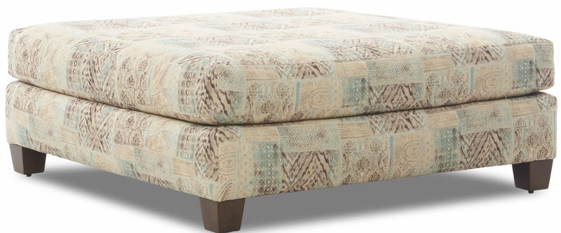 CORNERSTONE HOME INTERIORS - NOAH OVERSIZED OTTOMAN (IN PAINTING REEF)