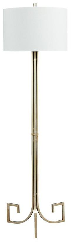 CORNERSTONE HOME INTERIORS - JANKIN METAL FLOOR LAMP