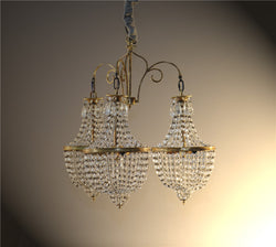 CORNERSTONE HOME INTERIORS - EDDIE CHANDELIER