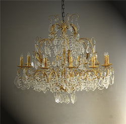 CORNERSTONE HOME INTERIORS - FARRAH CHANDELIER