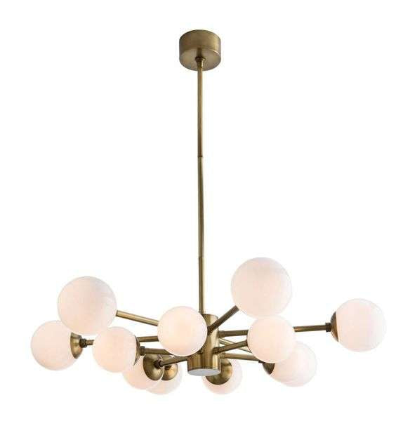 CORNERSTONE HOME INTERIORS - LISTON CHANDELIER