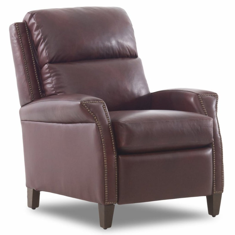 CORNERSTONE HOME INTERIORS - WALSH RECLINER (IN STEAMBOAT OXBLOOD LEATHER)