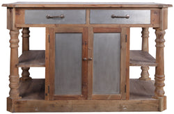 CORNERSTONE HOME INTERIORS - BUSHIRIBANA KITCHEN ISLAND