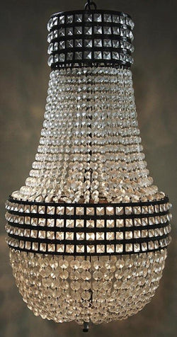 CORNERSTONE HOME INTERIORS - MASSE CHANDELIER
